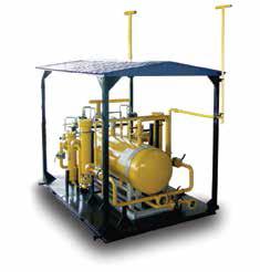 Узел очистки газа на базе фильтров-сепараторов ФС и фильтров-осушителей ФО